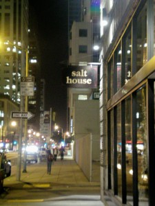 Salt House, a restaurant I intend to eat at before I leave the area