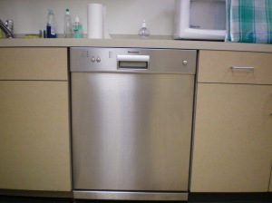 The Bancroft Library dishwasher
